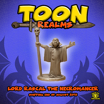 Lord Rascal The Necromancer (MSRP $4.5)