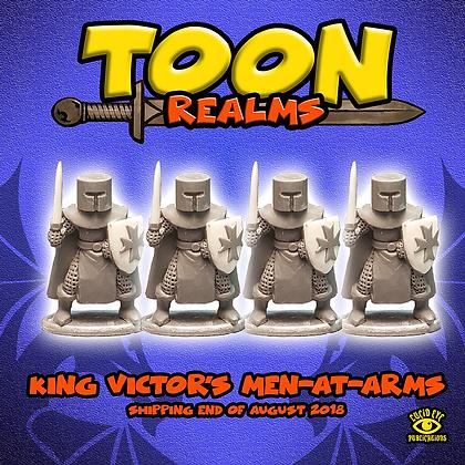 King Victor's Men-at-Arms (MSRP $7.5)