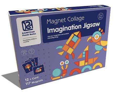 Magnet Collage Imagination Jigsaw (SMRP $30)