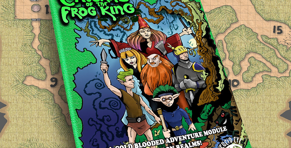 Module Caverns of the Frog King