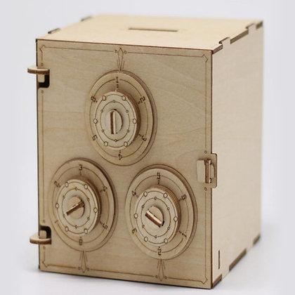 Safe Box 3D Wood Puzzle (MSRP $15)