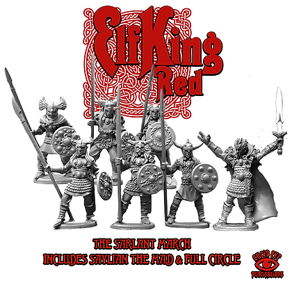 The Sarlant March - Elf King Red Full Circle Deal (SMRP $28)