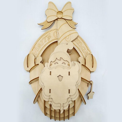 Holiday Decoration 3D Wood Puzzle (MSRP $19)