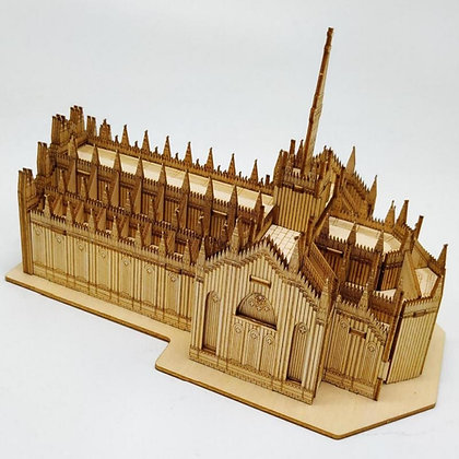 Milan Cathedral 3D Wood Puzzle (MSRP $35)