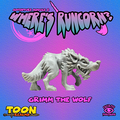 Grimm The Wolf (MSRP $6)