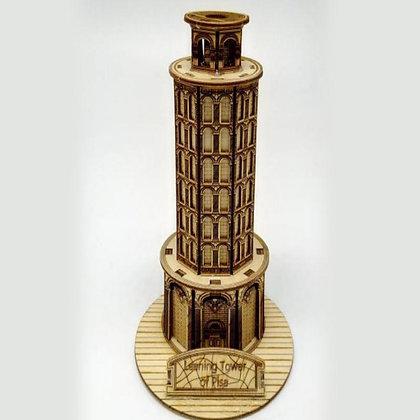 Pisa Tower 3D Wood Puzzle (MSRP $25)