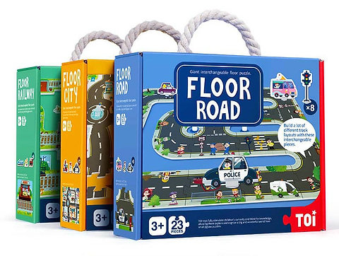 Floor Road Puzzle for Kids (SMRP $25 each)
