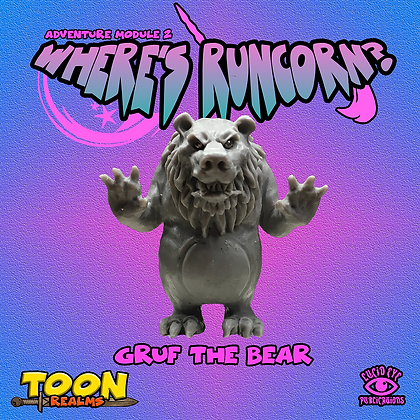 Grüf The Bear (MSRP $7.5)