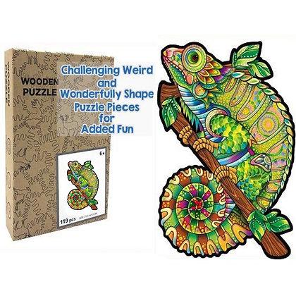 Chameleon Wood Puzzle (MSRP $35)