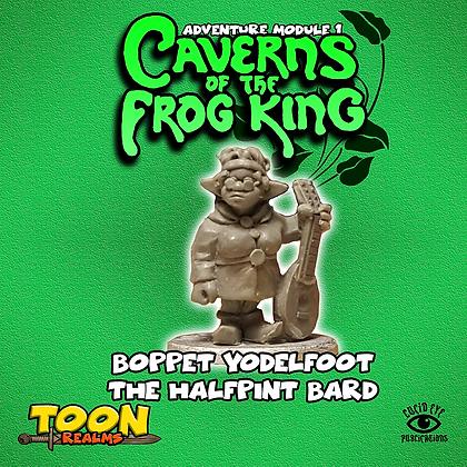 Boppet Yodelfoot The Halfpint Bard (MSRP $4.5)
