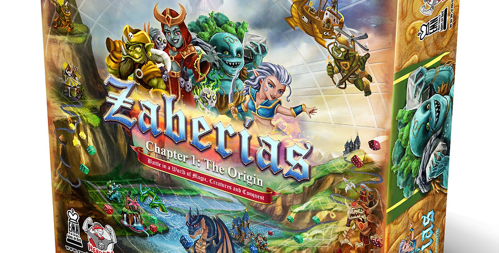 ZABERIAS Chapter One: The Origin