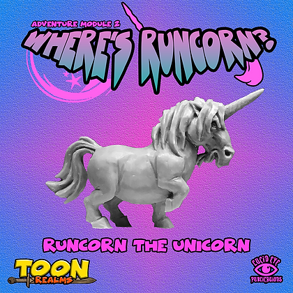 Runcorn The Unicorn (MSRP $6)
