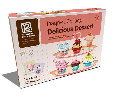 Magnet Collage Delicious Dessert (SMRP $30)