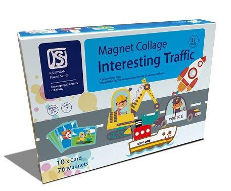 Magnet Collage Interesting Traffic (SMRP $30)