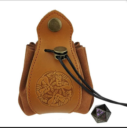 Leather Pouch for RPG Dice (MSRP $45)