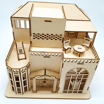 Lovely House 3D Wood Puzzle (MSRP $19)
