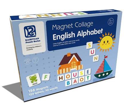 Magnet Collage English Alphabet (SMRP $30)