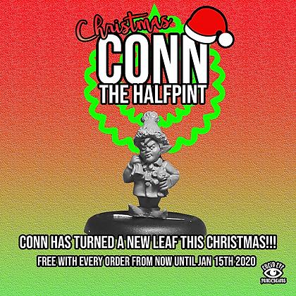 CHRISTMAS CONN THE HALFPINT! Christmas Promo Mini (MSRP $6)