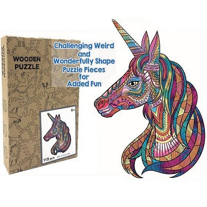 Unicorn Wood Puzzle (MSRP $35)