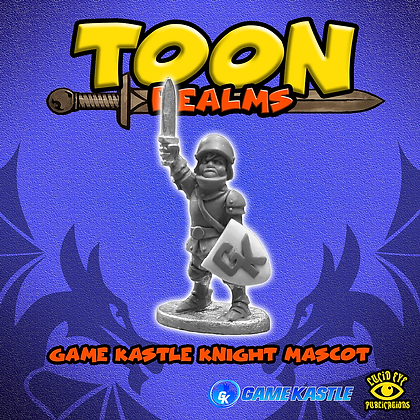 Game Kastle Knight Mascot (MSRP $4.5)