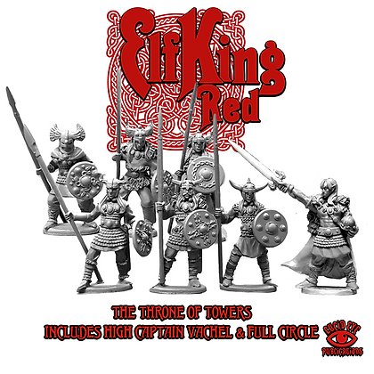Throne of Towers - Elf King Red Full Circle Deal (SMRP $28)