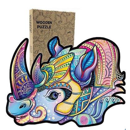 Rhinoceros Wood Puzzle (MSRP $35)