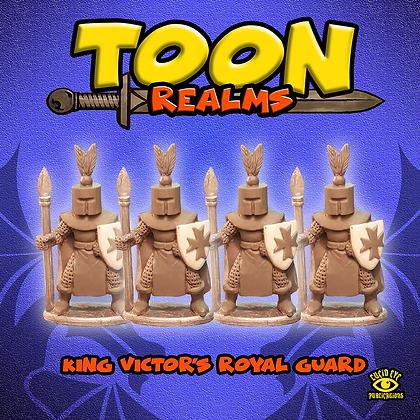 King Victor's Royal Guard (MSRP $7.5)