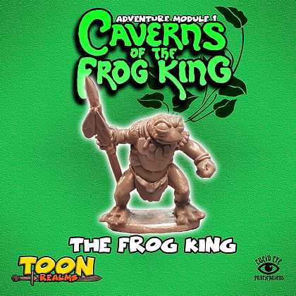 The Frog King (MSRP $4.5)