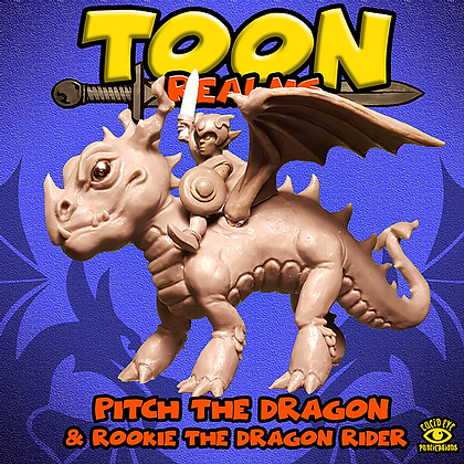 Pitch The Dragon & Rookie The Dragon Rider (MSRP $25)
