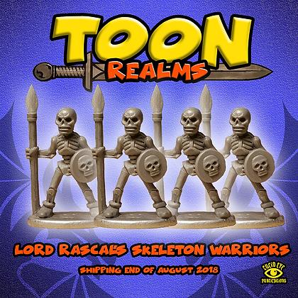 Lord Rascal's Skeleton Warriors (MSRP $7.5)