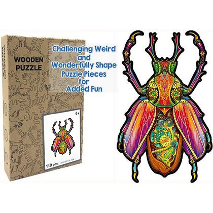 Insect Wood Puzzle (MSRP $35)