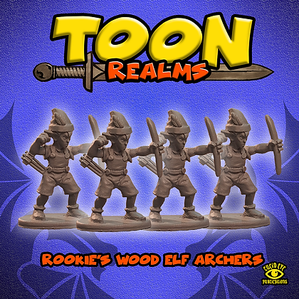 Rookie's Wood Elf Archers (MSRP $7.5)