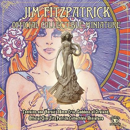 Jim FitzPatrick Official Collectible Miniature - Ériu, of Irel (SMRP $15)