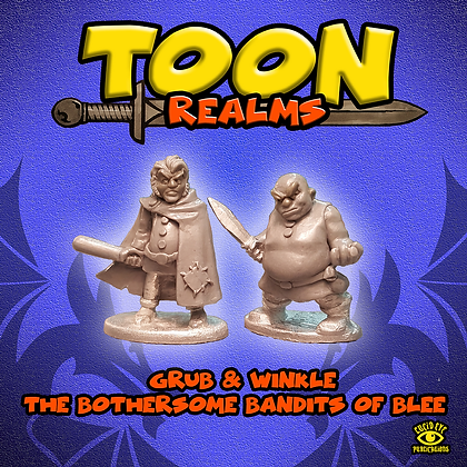 Grub & Winkle The Bothersome Bandits of Blee (MSRP $7.5)