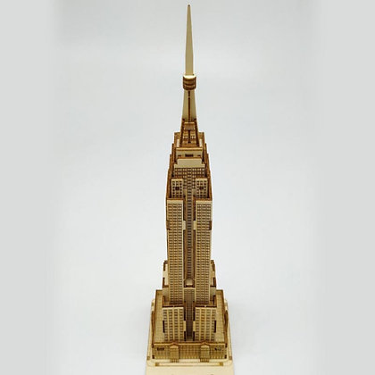 Empire State Building 3D Wood Puzzle (MSRP $25)