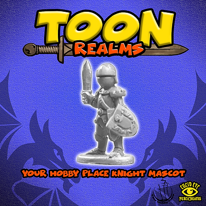 Your Hobby Place Knight Mascot (MSRP $4.5)