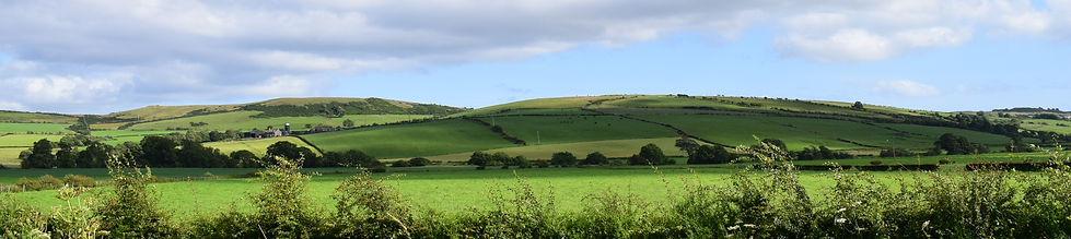 Beautiful country view near colintraive