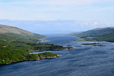 Kyles of Bute view point
