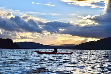 Kayaking Argyll