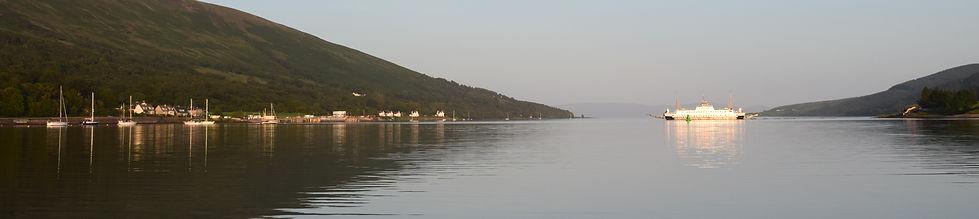 Colintraive ferry at Rhubodach
