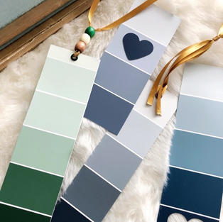 Paint Chip Bookmarks (and more)