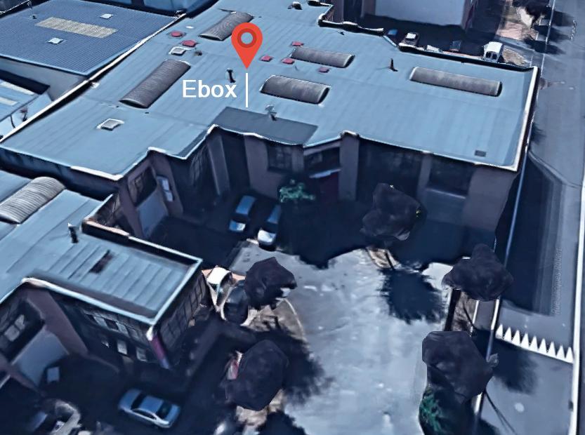 Les locaux d'Ebox