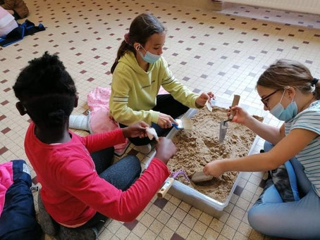 L'aventure continue…. à l'Abbaye Royale de Moncel pour les enfants de l'ACM de Cires-Lès-Mello