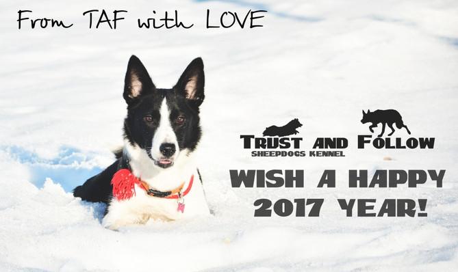 Happy New Year, or С Новым Годом!