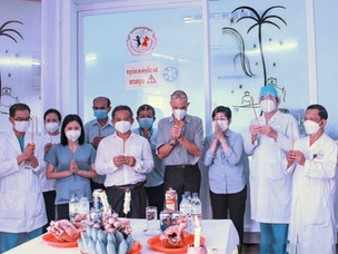 Kantha Bopha Children's Hospitals: Sustainable even in the pandemic
