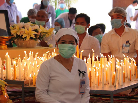 Mourning ceremonies for Dr. Peter Studer in Cambodia
