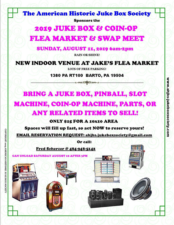 2019 AHJBS FLEA MARKET FLYER_SELLER COPY