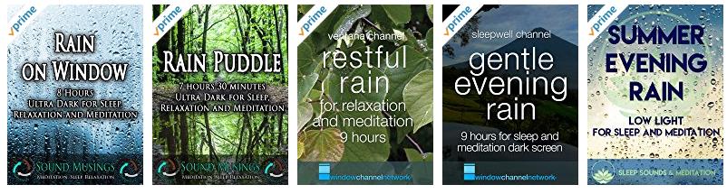 Amazon Prime Ambient Videos