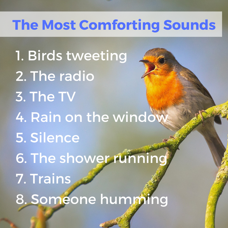 Most comforting sounds