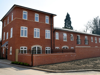 Completion of six new mews houses – Leybourne Manor